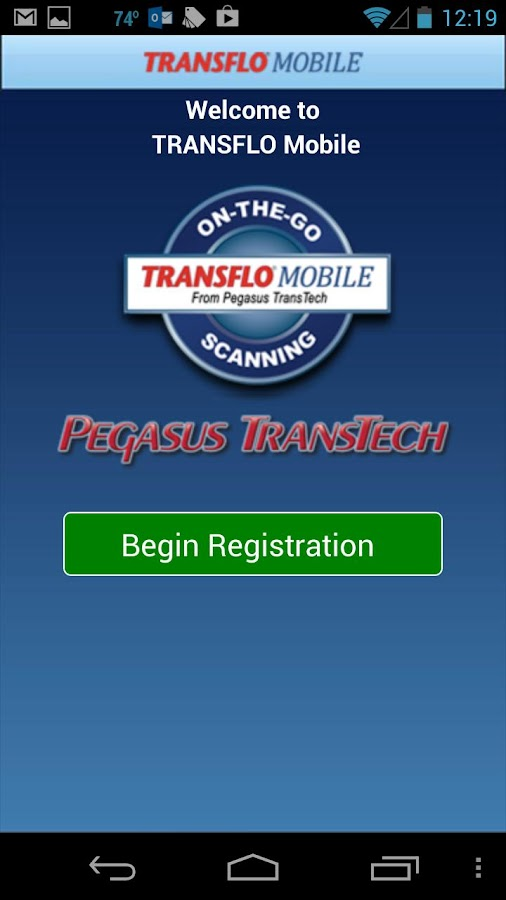 TRANSFLO Mobile- screenshot