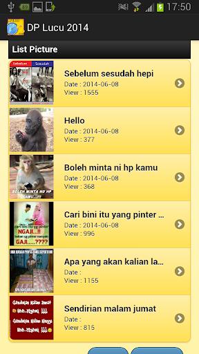 【免費媒體與影片App】DP Lucu 2014-APP點子
