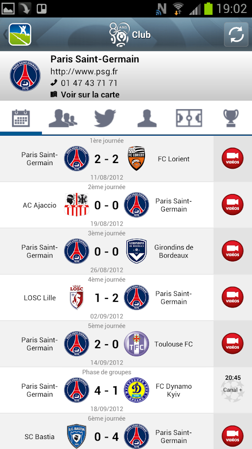 LFP (Officiel)- screenshot