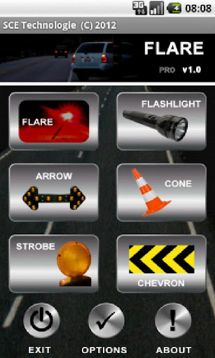 Emergency Road Flare PRO