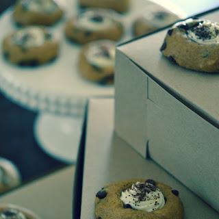 Oktoberfest Pumpkin Bread Thumbprint Cookies