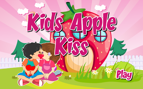 Fun Kids Apple Kiss