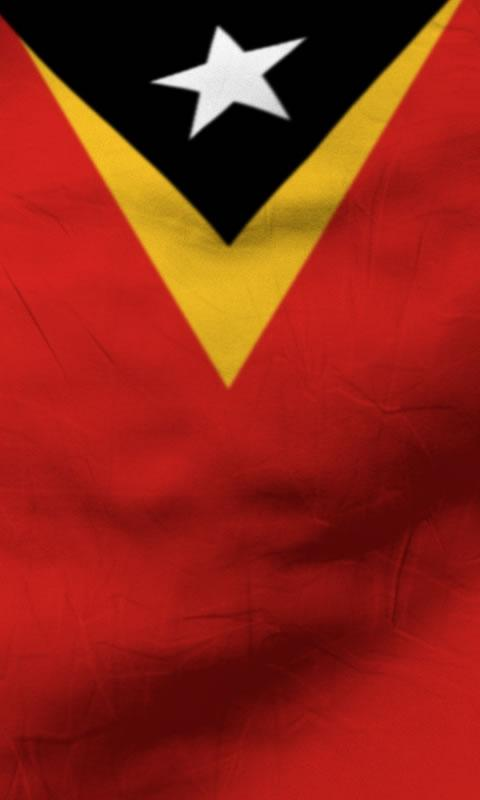 East timor flag lwp Free - screenshot