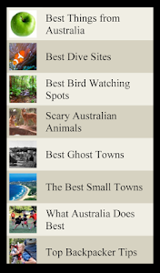 World Travel Lists - AUSTRALIA screenshot 3