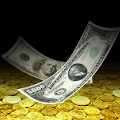 Falling Money 3D Live Wallpaper Pro