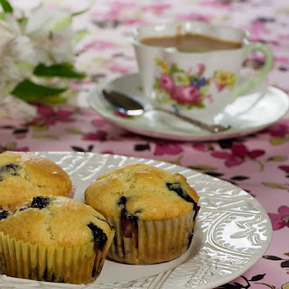 Maple Syrup Blueberry Muffins Recipe