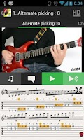 Screenshot of Guitar Solo SHRED HD VIDEOS