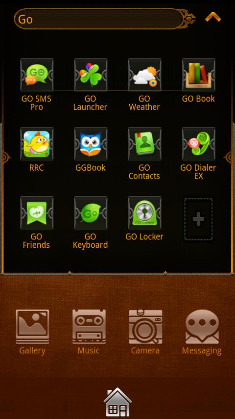 VALL go launcher EX theme - screenshot