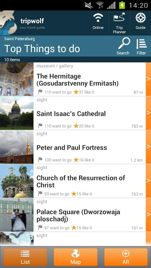 St Petersburg Travel Guide - screenshot