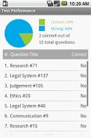 Screenshot of Certified Paralegal Exam Prep