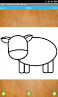Screenshot of Learn to draw animals for Kids