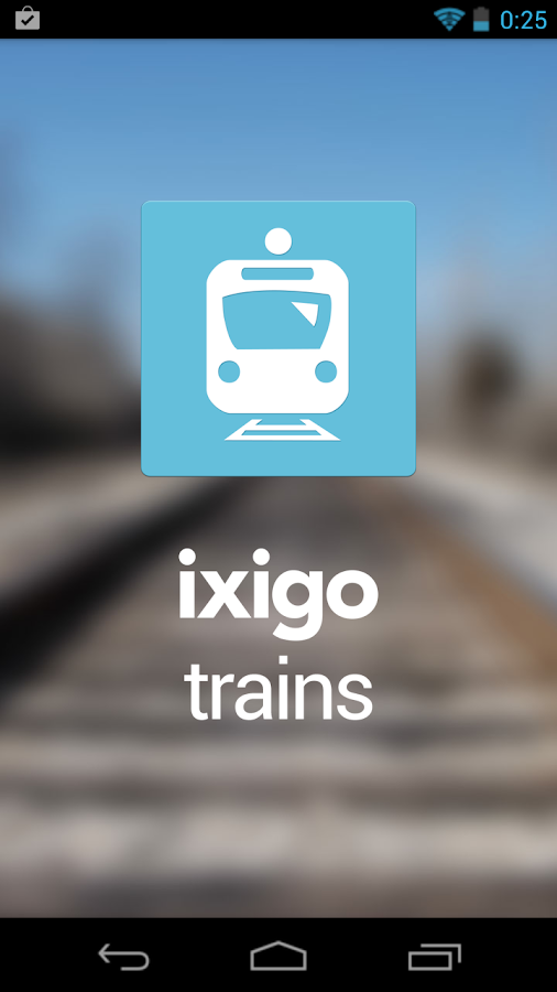 ixigo indian rail trains irctc - screenshot
