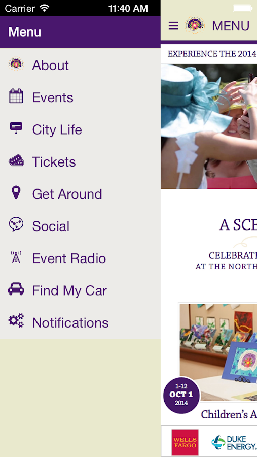 North Carolina Azalea Festival- screenshot