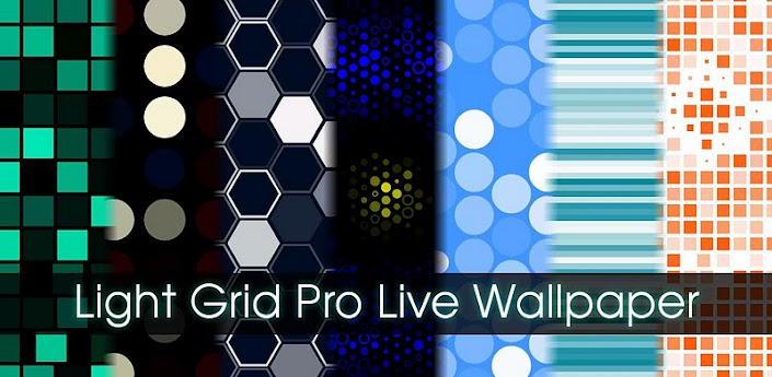 Light Grid Pro Live Wallpaper