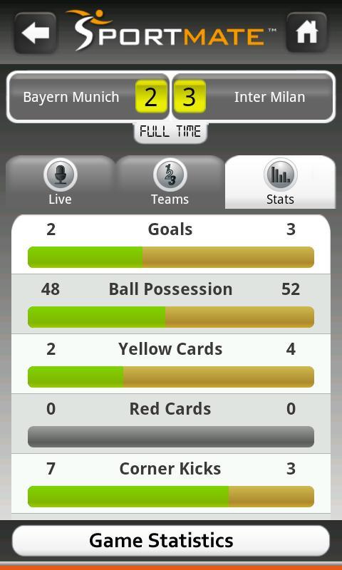 Football Scores Live (Soccer) - screenshot