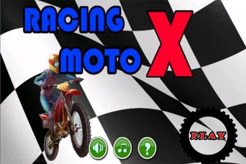 Racing Moto X