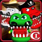 鱷魚拔牙齒!!! 3D icon