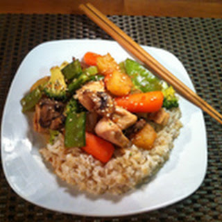 Island Teriyaki Chicken And Vegetables