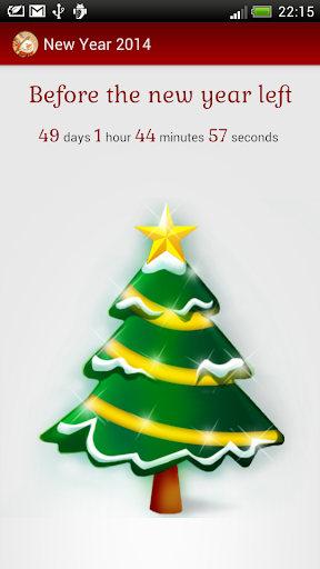 New Year 2014 count down timer