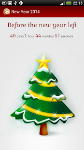 New Year 2014 count down timer- screenshot thumbnail