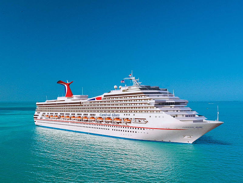Cruise the warm Caribbean waters on Carnival Glory.