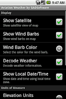 Screenshot of Aviation Weather - GADSoftware