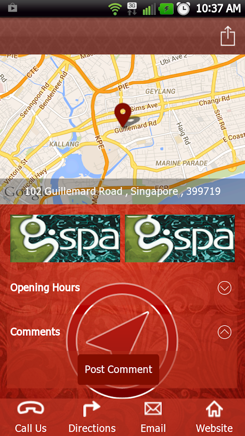 G spa singapore android apps on google play for Action salon singapore