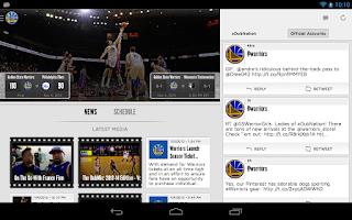 Screenshot of Golden State Warriors