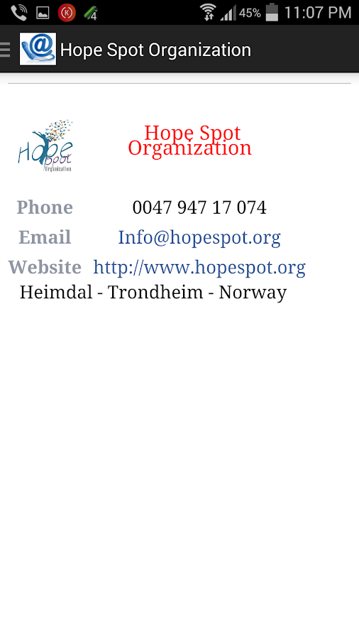 Hope Spot Org - HSO- screenshot