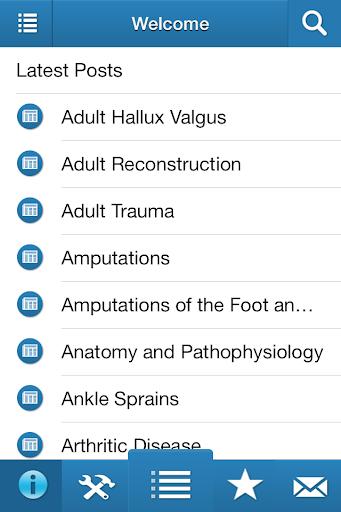 【免費醫療App】Orthopaedic Book App-APP點子