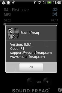 Soundfreaq Remote - screenshot thumbnail
