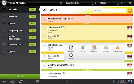 Todo List - Tasks N Todo's Screenshot 10