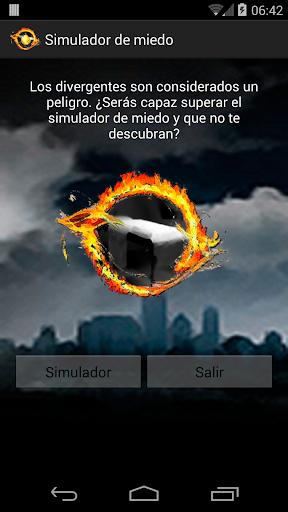 Divergente simulador de miedo