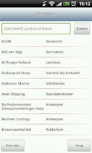 Scheepvaarttelefoongids - screenshot thumbnail