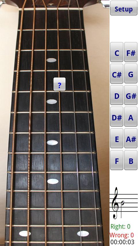 Guitar Fretboard Addict- screenshot