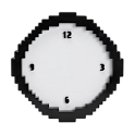 Pixel Analog Clock Widget icon
