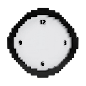 Pixel Analog Clock Widget