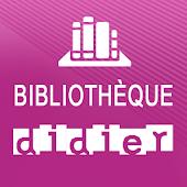 Bibliothèque numérique Didier