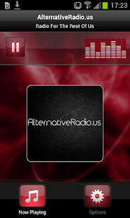 AlternativeRadio.us- screenshot thumbnail