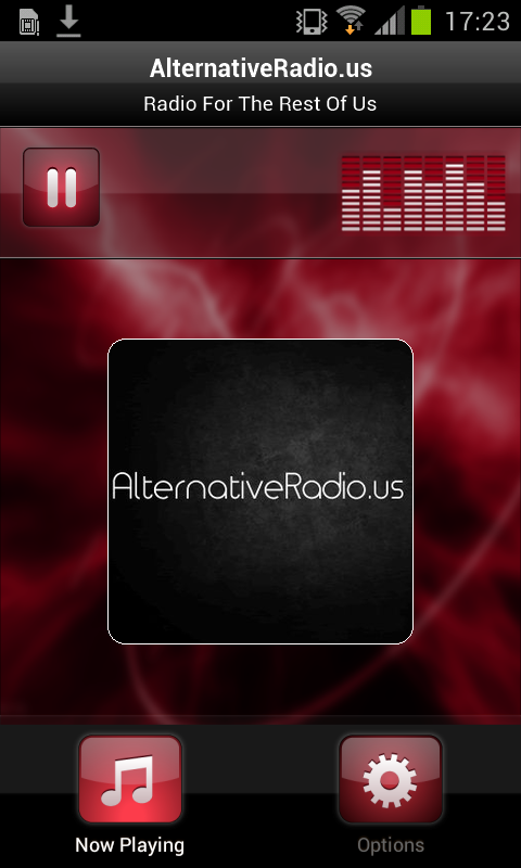 AlternativeRadio.us- screenshot