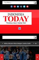 Screenshot of itoday