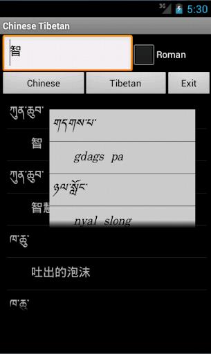 中國藏文詞典