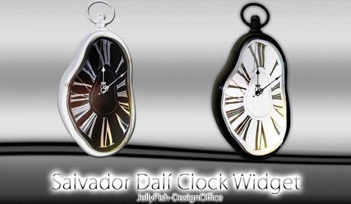 ダリの時計ウィジェット