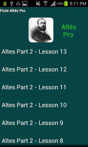フルート Altés Pro