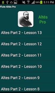 Flute Altés Pro - screenshot thumbnail