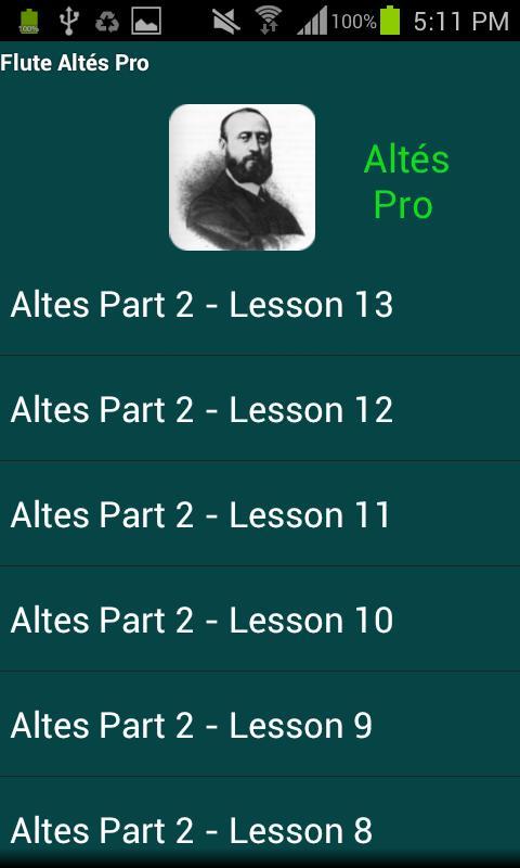 Flute Altés Pro - screenshot
