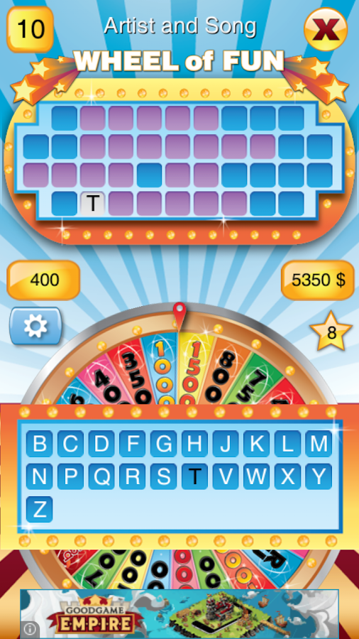 Wheel of Fun-Wheel Of Fortune- screenshot