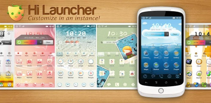 Hi Launcher v1.8 for Android