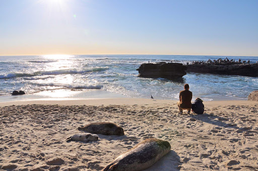 San-Diego-La-Jolla-Cove-2 - La Jolla Cove beach, just outside San Diego.