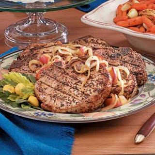Pork Chops with Onions and Apples Recipe